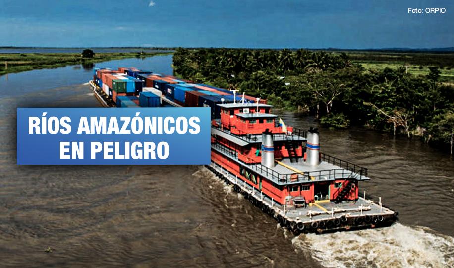 Congreso Mundial de la Naturaleza exhorta a Perú detener proyecto de Hidrovía Amazónica