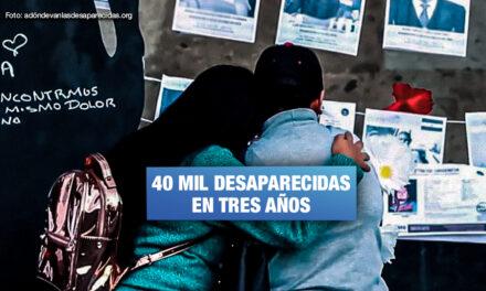 Familias piden a Pedro Castillo priorizar búsqueda de mujeres desaparecidas