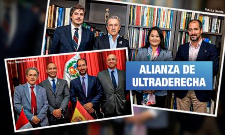 Vox de España refuerza lazos con Fuerza Popular y Renovación Popular