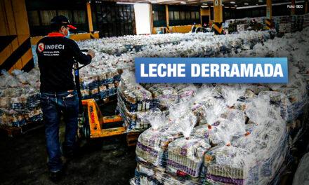 Más de 50 mil tarros de leche destinados a familias vulnerables se vencieron en almacén de Indeci