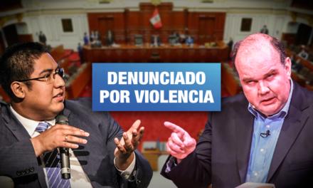 López-Aliaga designa como coordinador parlamentario a Christian Rosas