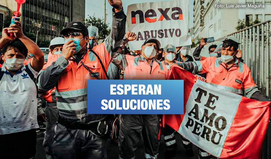 Trabajadores mineros de Pasco llegan a Lima para defender sus derechos laborales