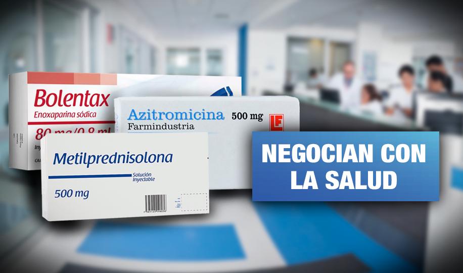 Indecopi: Clínicas cobraron S/ 350 más por medicinas para COVID-19