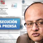 Excandidato al Congreso denuncia cuatro veces a Wayka por investigar antecedentes de acoso