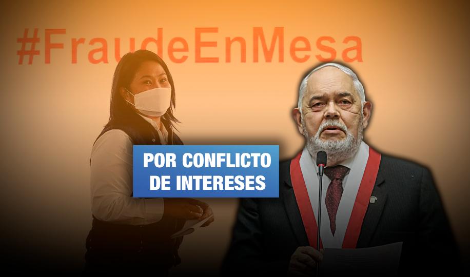 Elección de Montoya como presidente de comisión investigadora de inexistente fraude electoral va contra el reglamento