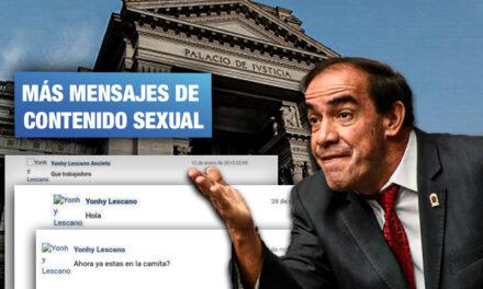 Presentan nuevas pruebas de acoso contra Lescano tras acusar por difamación a periodista