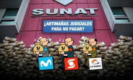 Telefónica, Minera Las Bambas y Scotiabank encabezan lista de empresas con deudas tributarias judicializadas
