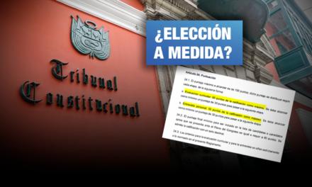 Comisión TC del Congreso modifica los puntajes de selección de magistrados