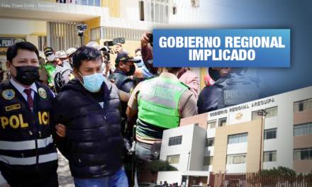 Arequipa: La red de repartijas por las que gobernador Elmer Cáceres es acusado de dirigir organización criminal