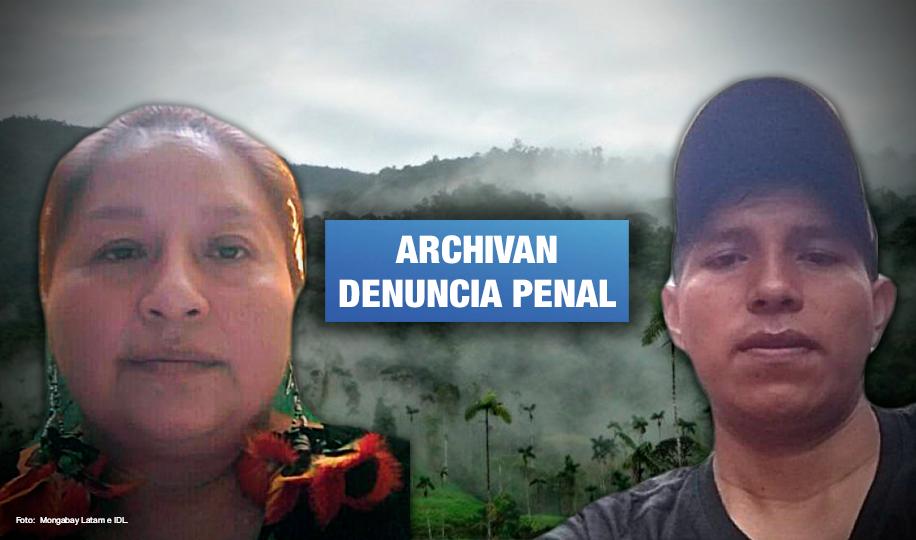 Fiscalía cesa persecución judicial contra defensores ambientales de la Cordillera del Cóndor