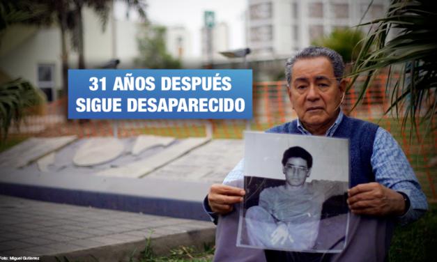 Ernesto Castillo Páez: Estado peruano insiste en archivar caso de desaparición forzada ante la Corte Interamericana