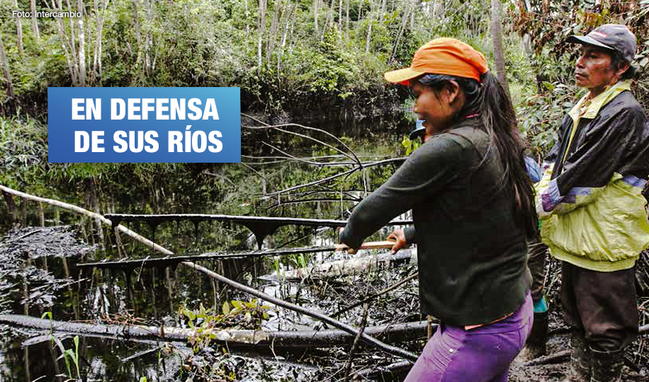 Mujeres indígenas kukamas demandan al Estado peruano que se reconozca al río Marañón como sujeto de derechos