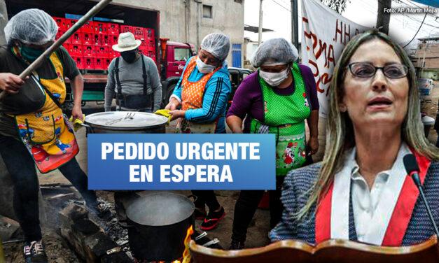Ollas comunes denuncian que Congreso dilata debate para declarar la Emergencia Alimentaria